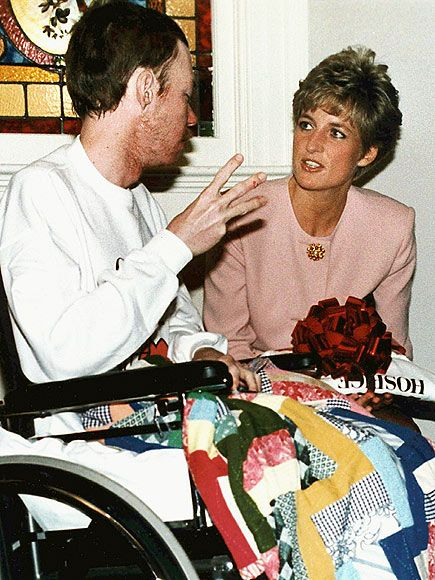 Image result for princess diana aids hands