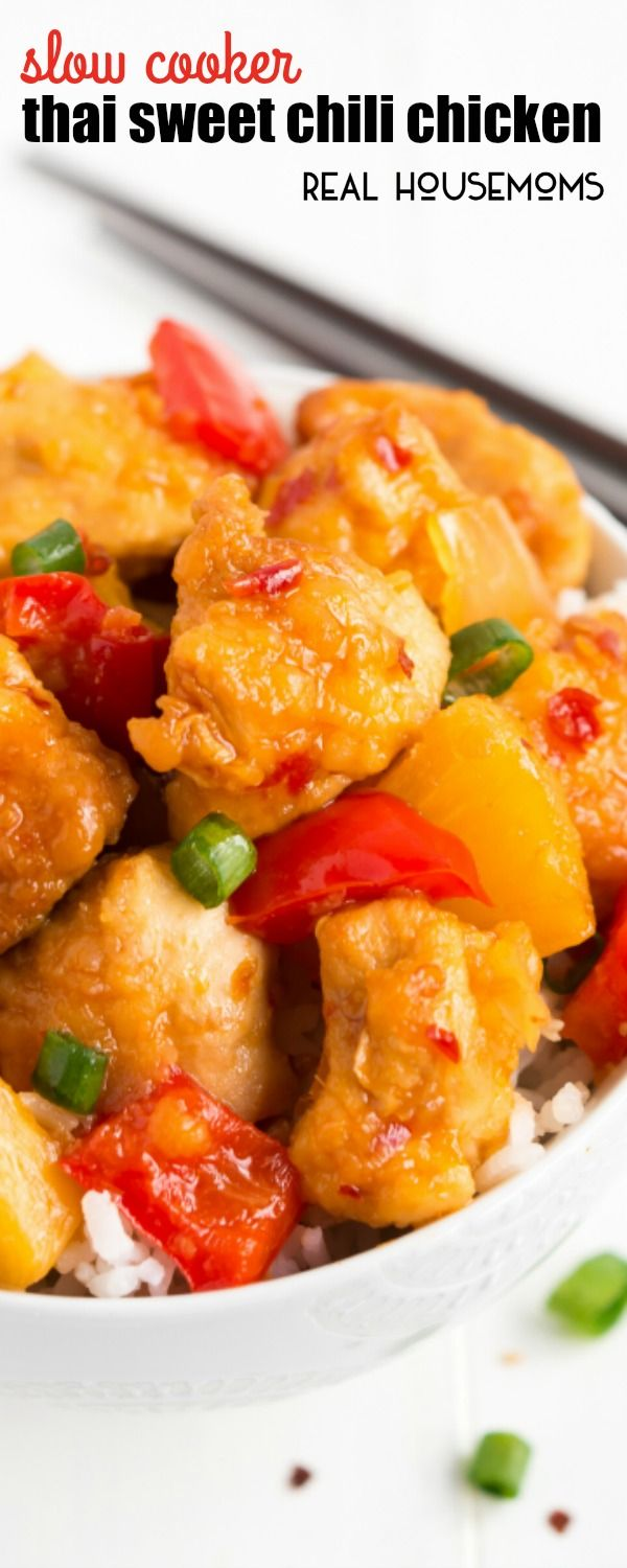No Need To Order Take Out With This Scrumptious Sweet And Spicy SLOW COOKER THAI