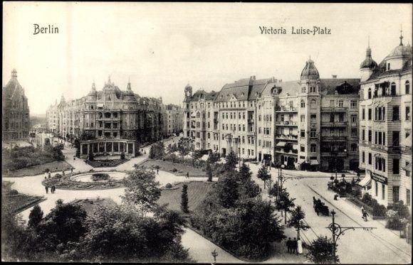 Ansichtskarte / Postkarte Schöneberg Berlin, Blick auf Viktoria Luise Platz