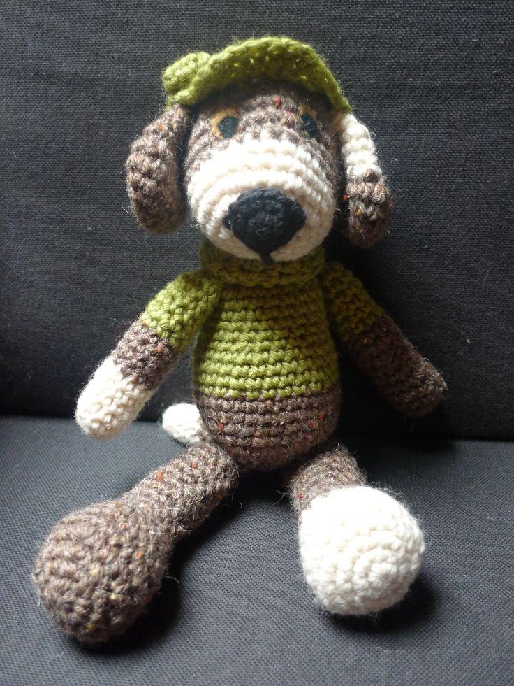 Amigurumi crochet. Perrito de Lara