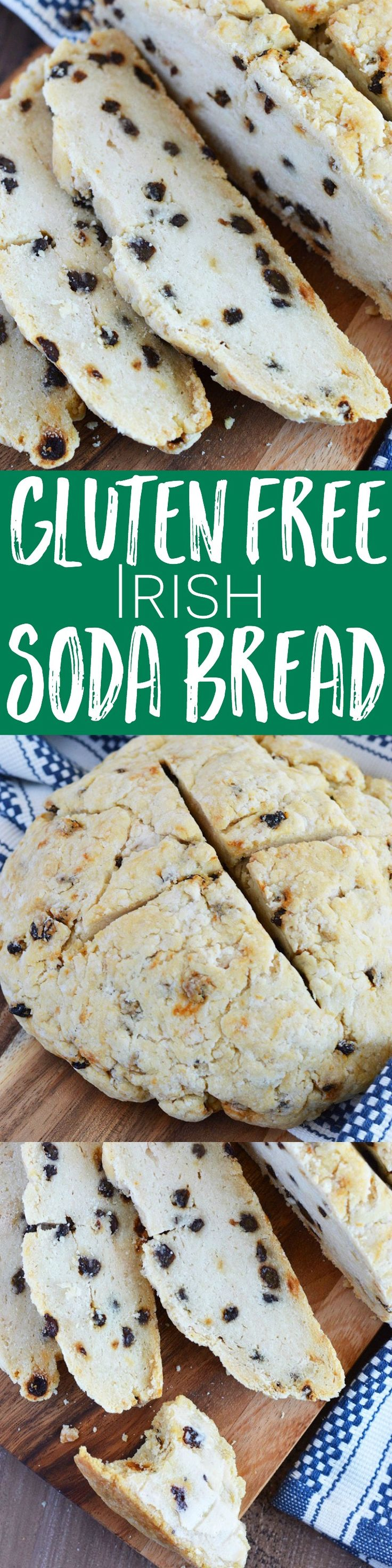 Gluten Free Irish Soda Bread from What The Fork Food Blog | whattheforkfoodblog.com