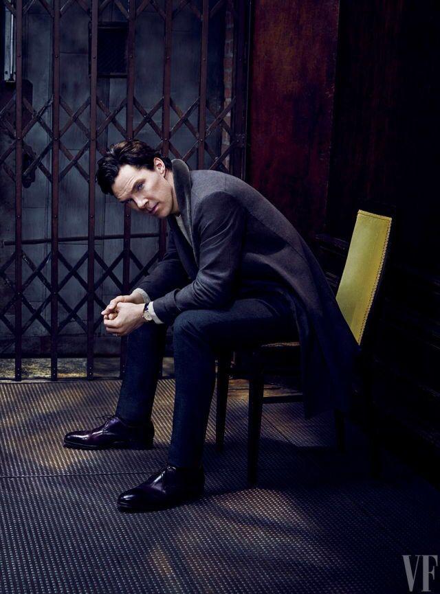 Benedict Cumberbatch Photoshoot.- Vanity Fair