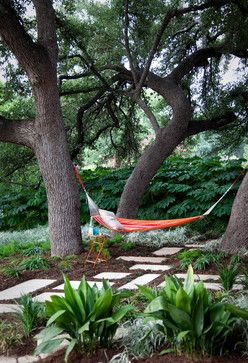 Generous Space For A Hammock    With Pavers And Groundcovers    Takes Up  Lawn