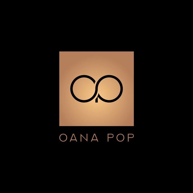 """Oana Pop logo I'm so happy i found the perfect logo to identify with! I love it !  I was very afraid that i will not find """"the one"""" for me and i will have to choose it just like, to have it but after several attempts, i came to work with @gelurada that managed to create the one i have and i couldn't be happier and grateful!"""