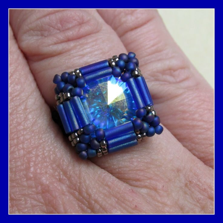 Kelly from Off the Beaded Path, in Forest City, North Carolina shows you how make a ring that goes with the past 2 weeks bracelet and earring projects. We ha...