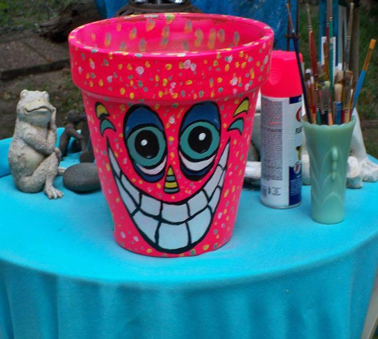 Pot Head-give your garden a little humor..