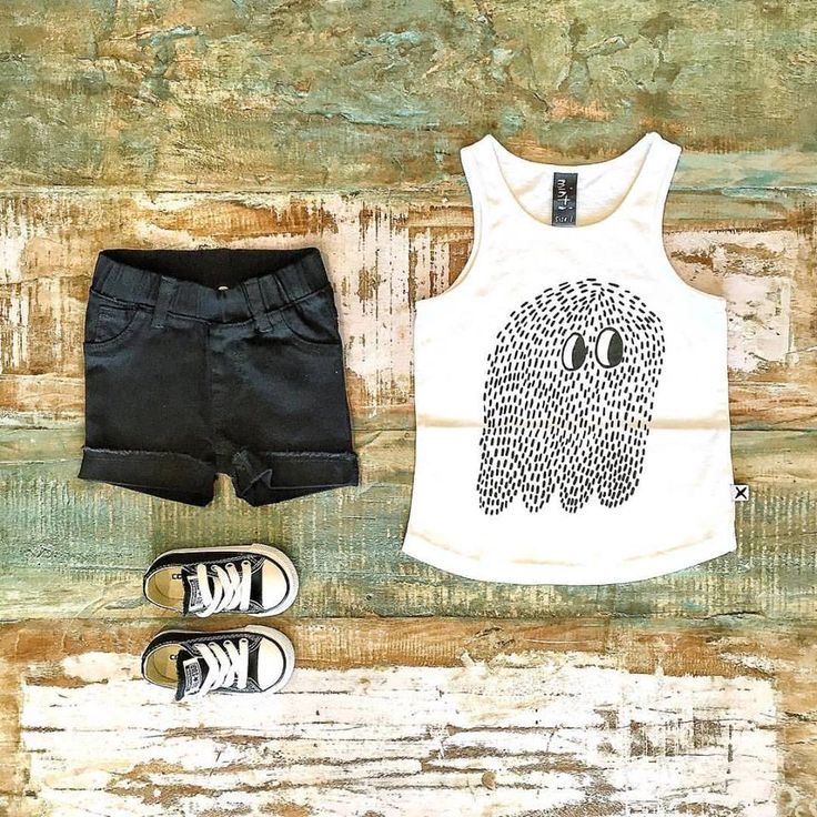 Minti boys singlet, Beau Hudson denim shorts & Converse kids sneakers. Shop these styles at Tiny Style online.  www.tinystyle.com.au   #boysfashion #coolkidsclothes #converse #tinystyle