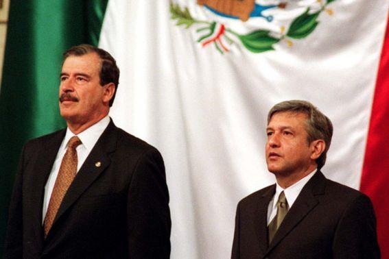 Vicente Fox y Tatiana Clouthier pelean por AMLO en Twitter