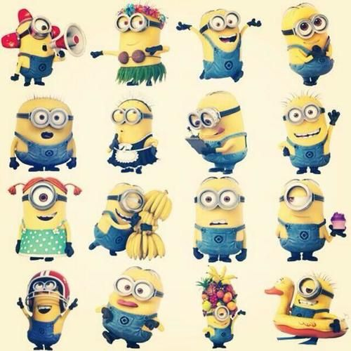 Gots to have options man, options. excuse me while i indulge my minion obsession