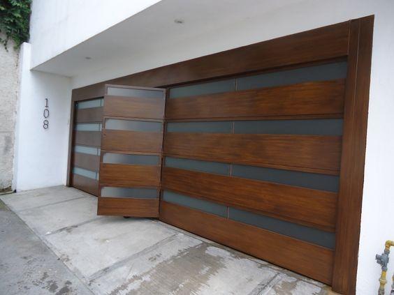 22 best port n corredizo images on pinterest garage for Disenos de portones