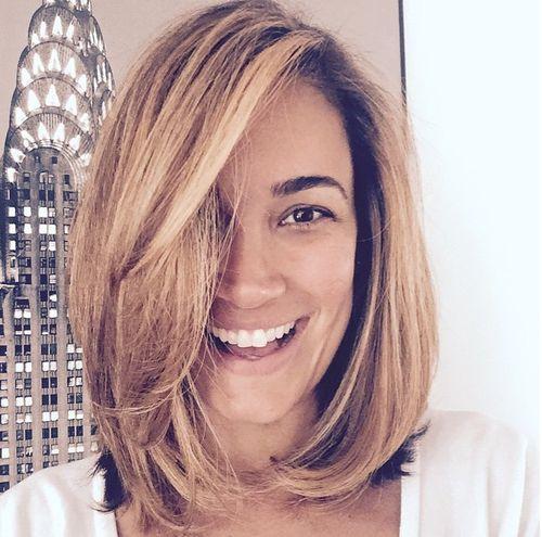 Schnipp, schnapp, Haare ab: Jana Ina zeigt ihren Bob