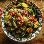 Spicy Asian Brussels Sprouts
