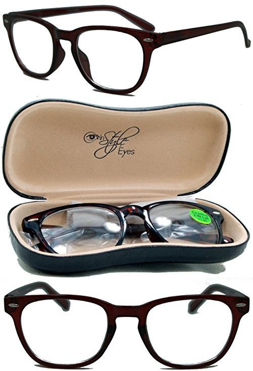 135ddce6f1e In Style Eyes¨ Relaxed Classic BiFocal Reading Glasses Tortoise 2.50