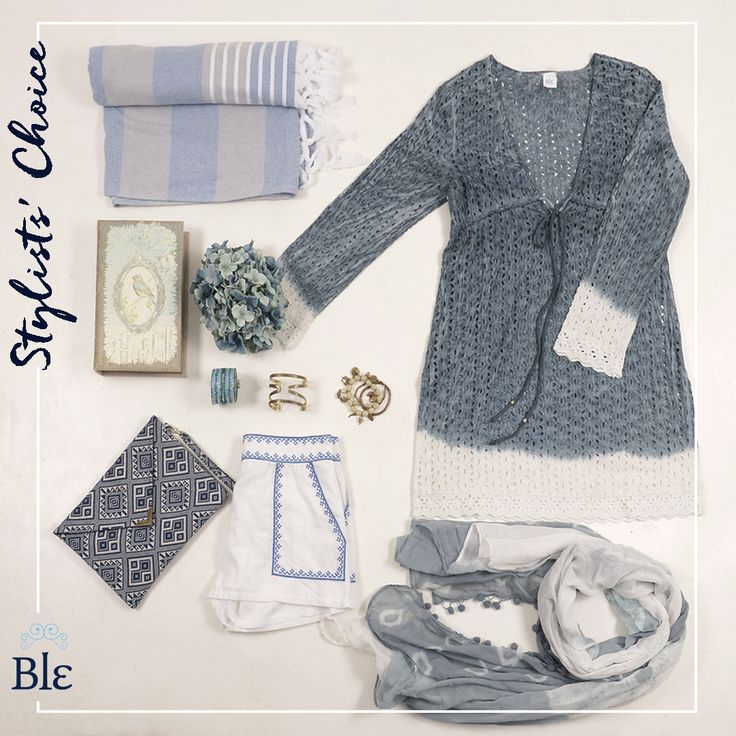Light blue on my dress, my shorts, my scarf and even my beach towel…  It is not a trend. It is the blue summer effect! Copy the look here at ble-shop.com #BleResortCollection #BleSummer #StylistsChoice #SummerClothes #SummerShopping #Shopping #SummerStyle #SummerFashion#Fashion #Style #SummerHolidays #Holidays #Greece #GreekSummer #GreekIslands #Dress #Shorts #Scarf #BeachTowel