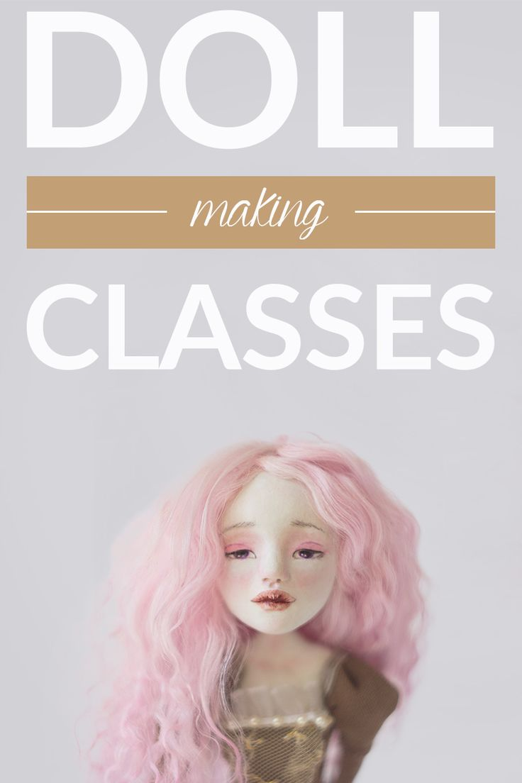 Doll making online classes