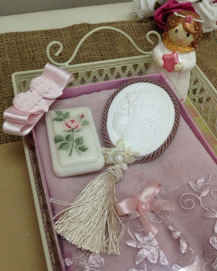 Havlu kokulutaş sabun hediye seti
