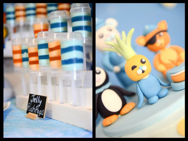 Treats at an Octonauts party #octonauts #partytreats