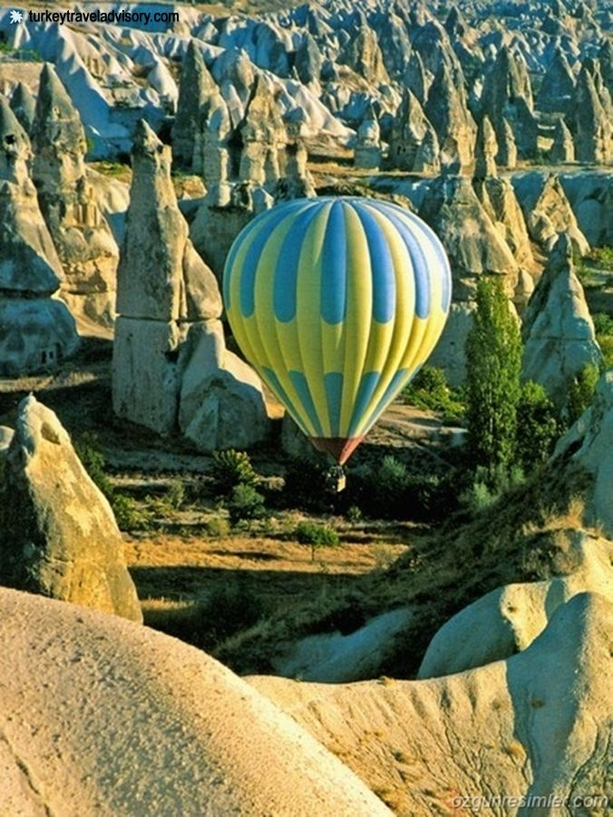 Hot Air Ballooning tours on Cappadocia, Turkey