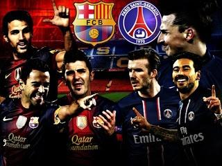Laga perempat final Liga Champions leg-2 di Nou Camp, Rabu (10/4) atau Kamis (11/4) dinihari WIB, akan mempertemukan Barcelona Vs Paris Saint-Germain