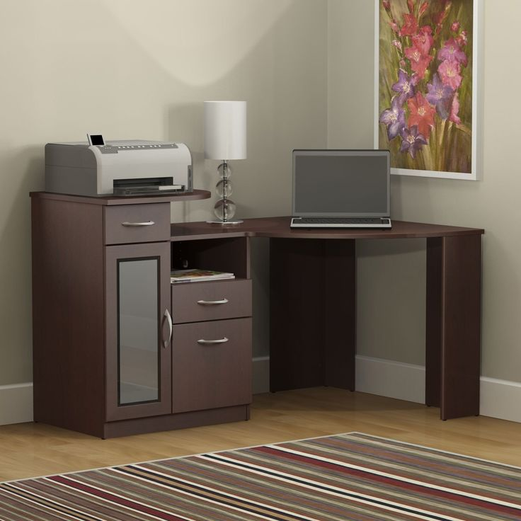 Have to have it. Bush Vantage Cherry Corner Computer Desk - $269.99 @hayneedle