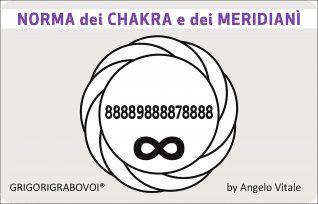 Tessera Radionica 44 - Norma dei Chakra e dei Meridiani