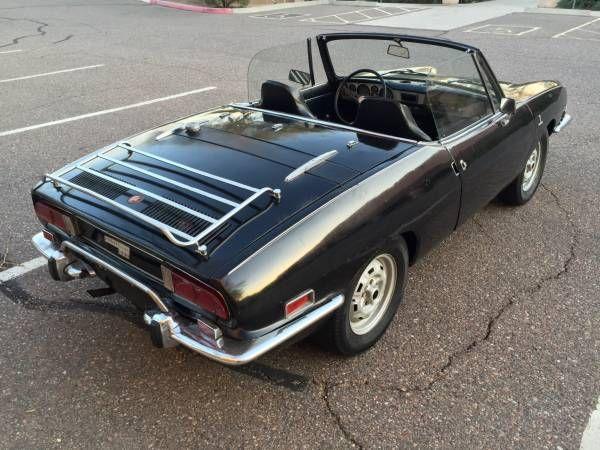 Fairly rare: 1972 Fiat Sport Spider