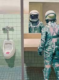 Resultado de imagen para surrealismo astronauta