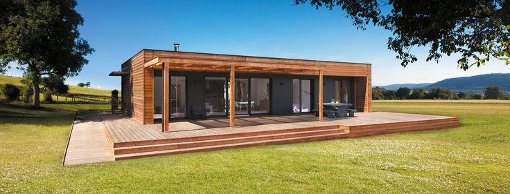 Les 29 meilleures images du tableau booa agence alsace for Constructeur maison bois alsace