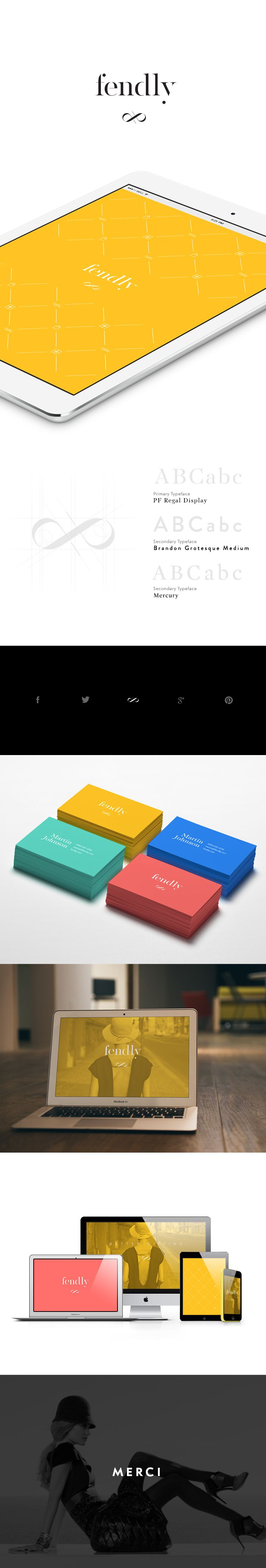 Fendly Branding - Fendly is New York based gifting platform meant to be used as a resource for product and fashion news, trends, and gifting inspiration.  #designagency #sandiegodesign #identitydesign #beautifulidentity #branding #logodesign #fashion
