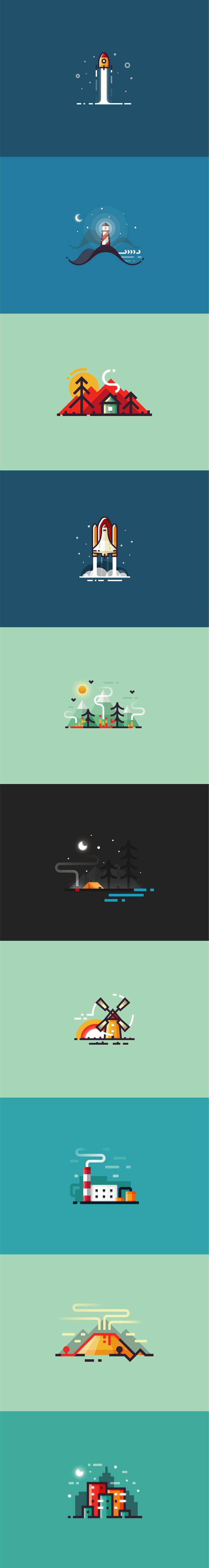 Only high-quality illustrations are included in this set. This collection of pictogrames are made in a unique style with high level of accuracy. Graphic elements can be used as an infographic icons to visualize your data. As you've noticed my new collecti…
