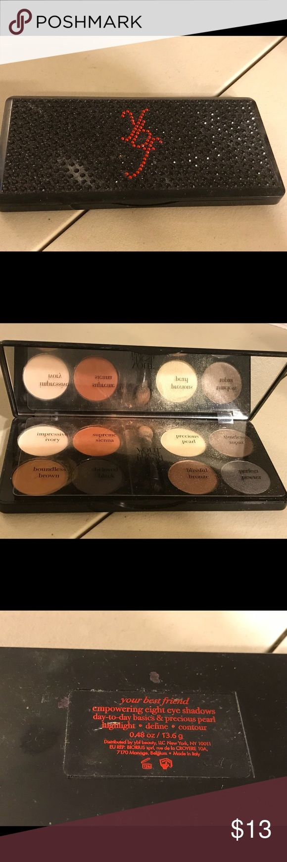 Your best friend palette Your best friend palette, empowering eight eye shadows, day to day basics and precious pearl . Highlight, define and contour. Pre-owned. Thanks for checking out Luxury1cosmetics!! Offers are welcomed, bundles are discounted!!! your best friend Makeup