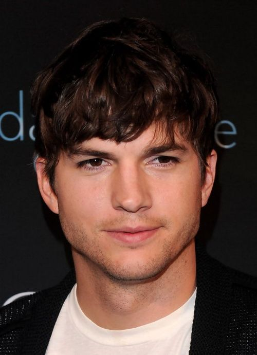 Mens medium hairstyles by Ashton Kutcher | Men Hairstyles ...