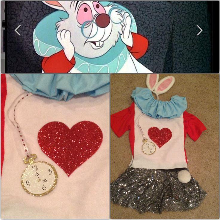 The White Rabbit, Alice in Wonderland, runDisney costume, My DisneySide - photo and costume by Lori Soto