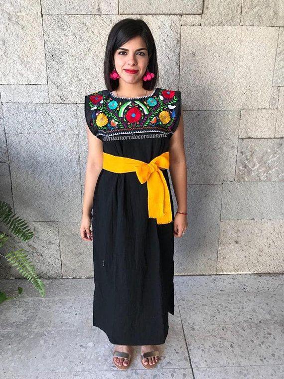 Mexican Dress Vestido Mexicano Mexican Party Fiesta Mexicana