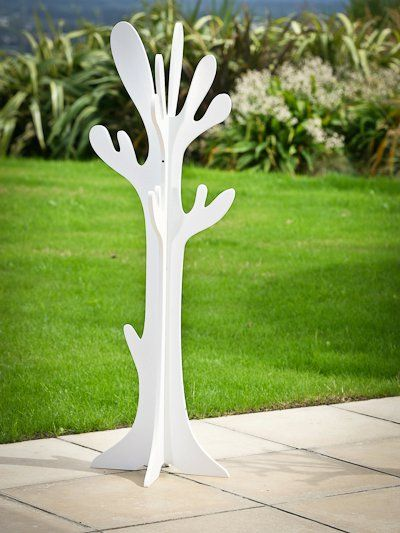 Mocka Clothes Tree Hanger - White