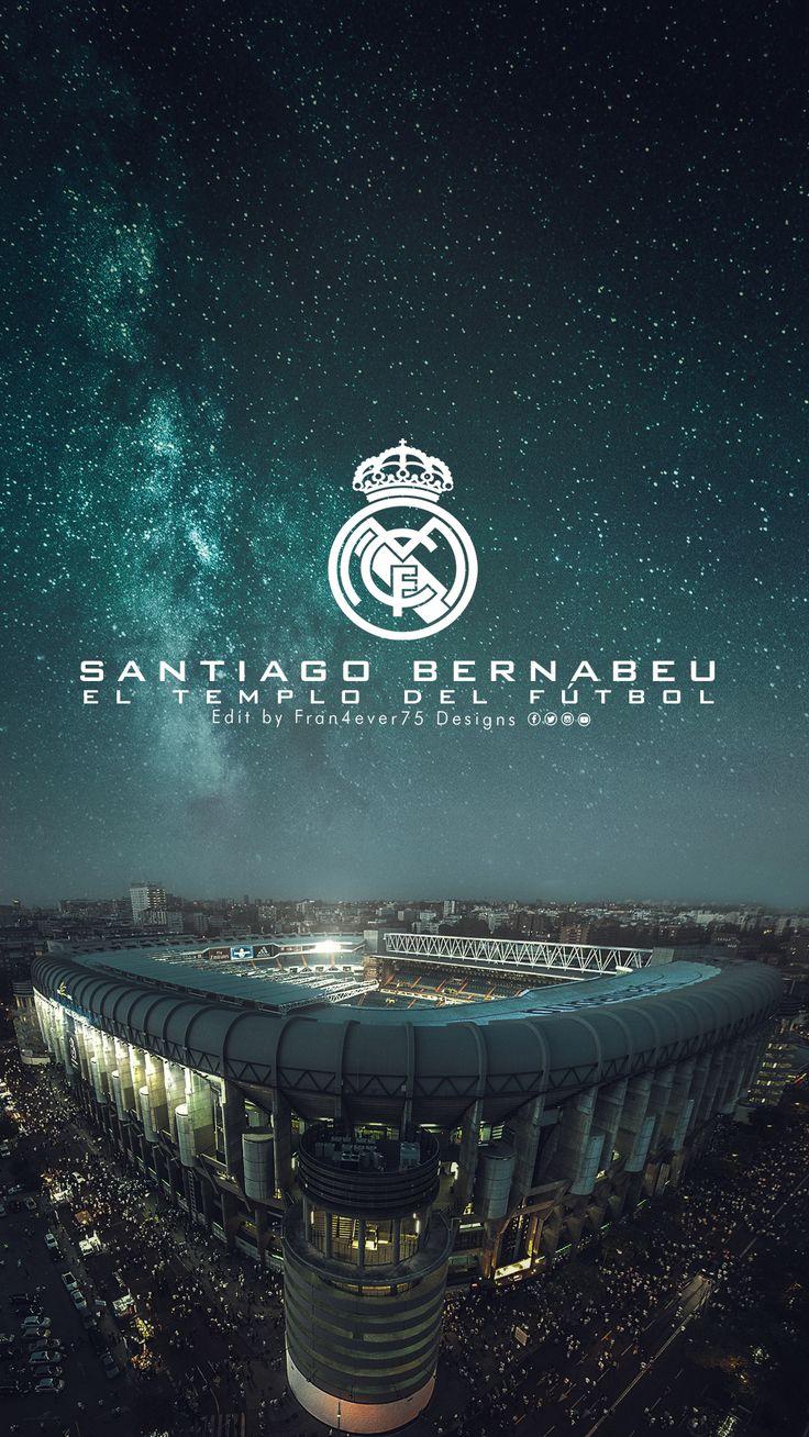 """Estadio Santiago Bernabeu """"El templo del madridismo"""" #futbolsoccer"""