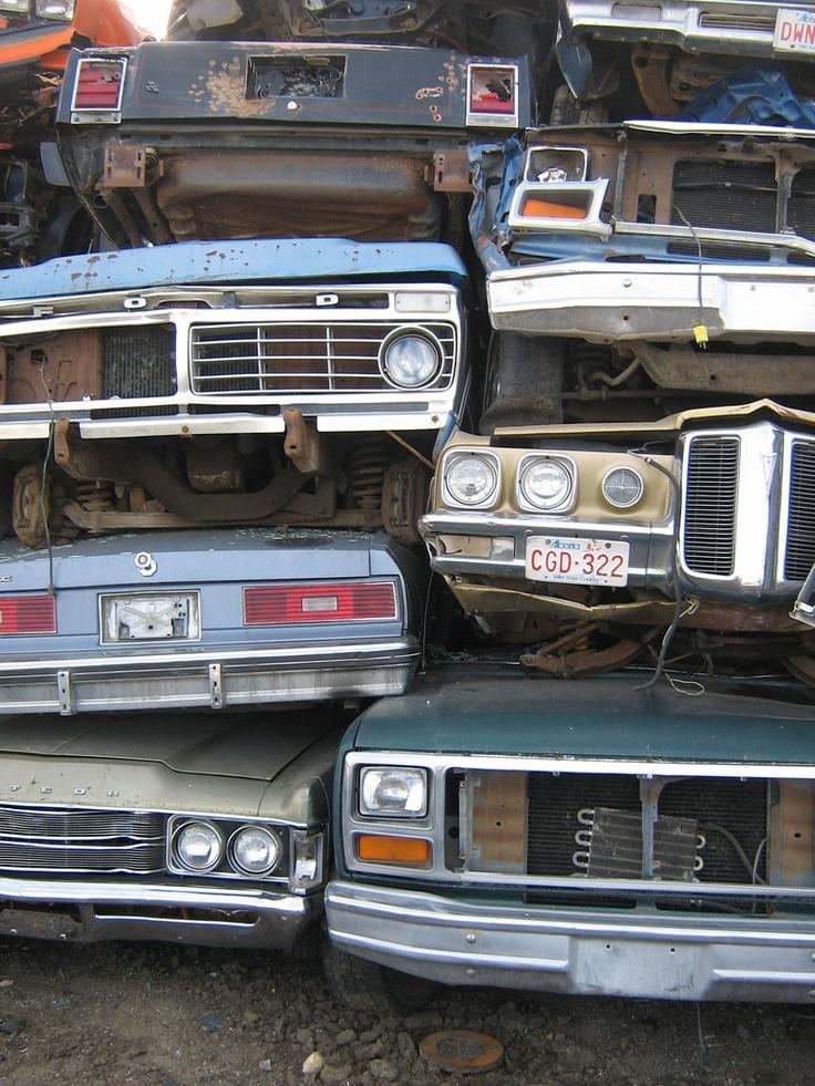 149 best junk yard images on Pinterest | Junk yard, Abandoned cars ...