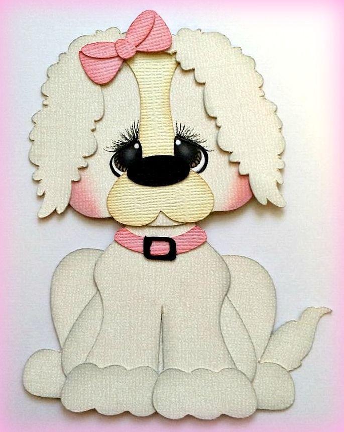 Pet PAL Пудель щенок животных собаки premade шитье по бумаге, по моим разрыв медведи Кира in Рукоделие, Скрапбукинг и поделки из бумаги, Шитье по бумаге | eBay