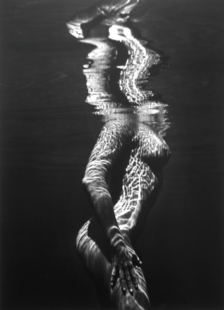 Brett Weston Untitled Underwater Nude From A Unique Collection Of