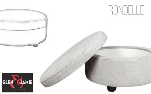 Rondelle from Glen and Jamie's designer collection #GlenandJamie #furniture #design