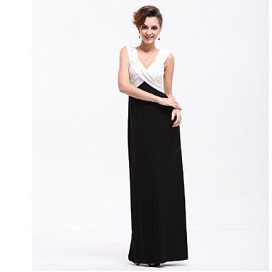 Women's Contrast Color Twist Maxi Dress – USD $ 62.29