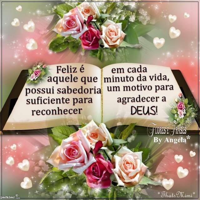 Flores E Frases Feliz é Aquele Que Possui Sabedoria Suficiente