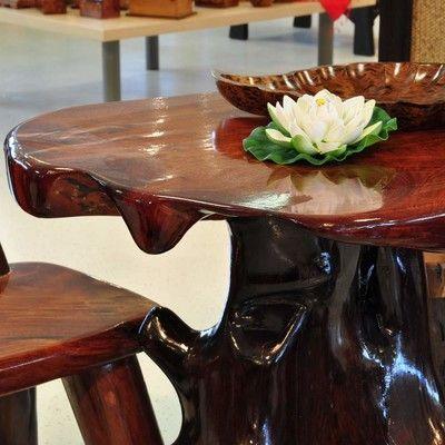 Tisch Massivholz Wurzelholz Möbel Gartenmöbel