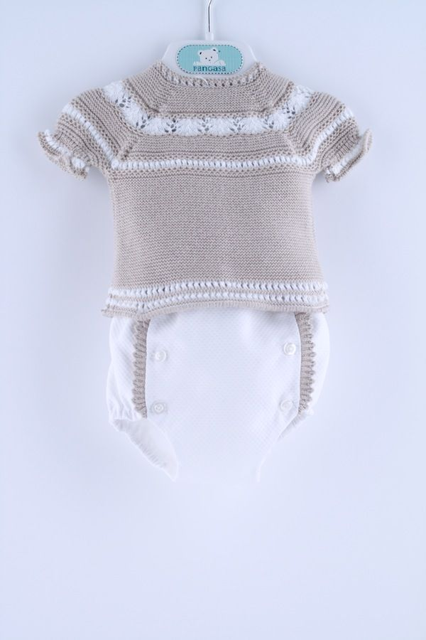 Traje Jubón y Polaina Bebé – 33302 | Pangasa Baby