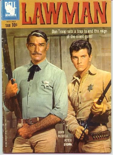 Lawman - Peter Brown (so cute) & John Russell
