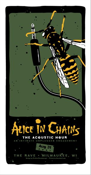 Alice in Chains  at The Rave,  Milwaukee,   WI   by Billy Perkins