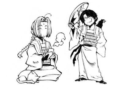 Saiyuki ~~ Ukoku and Koumyou