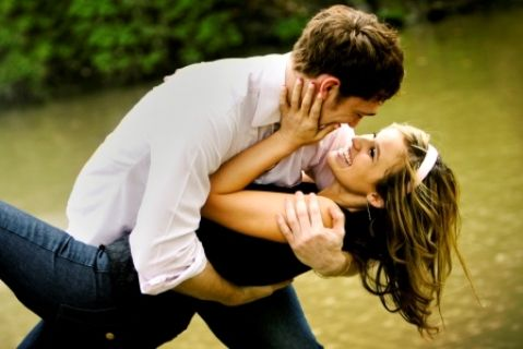 Love this pose for engagement photos