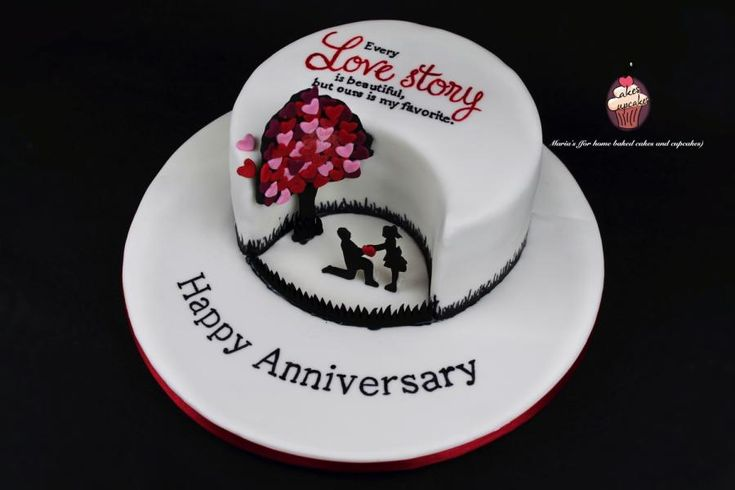 Love Story Cake by Maria's - http://cakesdecor.com/cakes/269383-love-story-cake