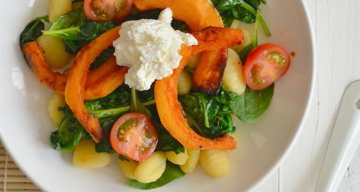 Fresh & Easy: Gnocchi met geroosterde pompoen - Uit Pauline's Keuken